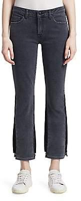 Derek Lam 10 Crosby Women's Gia Mid-Rise Flared Crop Jeans
