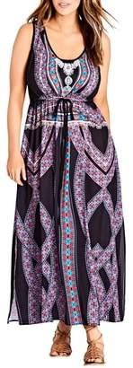 City Chic Brasilia Maxi Dress