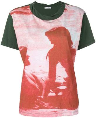 J.W.Anderson lovers print T-shirt