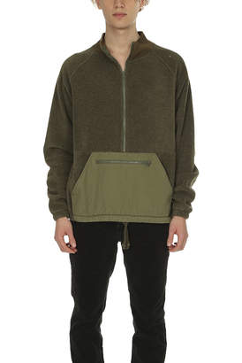 Remi Relief Fleece Anorak Crewneck
