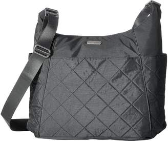 Baggallini Quilted Hobo Tote with RFID Tote Handbags