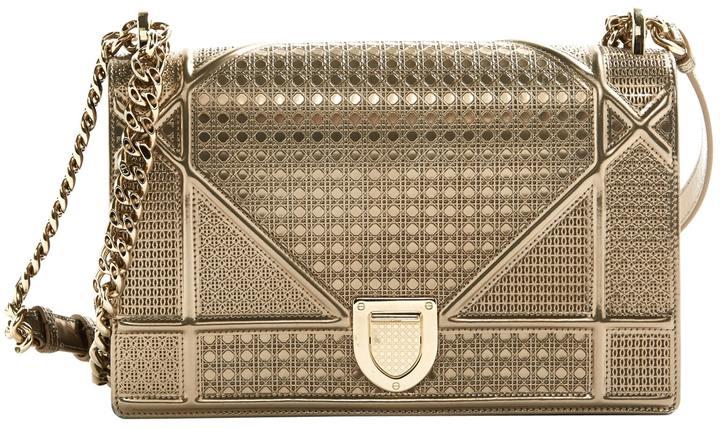 Diorama cloth clutch bag