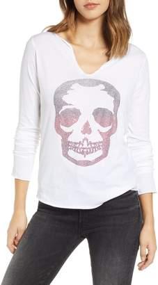 Zadig & Voltaire Tunisien Skull Shirt