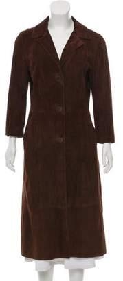 Dolce & Gabbana Vintage Suede Coat