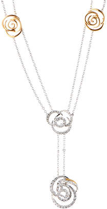 Damiani 18K Two-Tone 0.51 Ct. Tw. Diamond Necklace