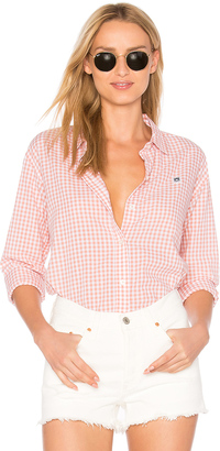 Obey 89 Check Button Down Shirt $66 thestylecure.com