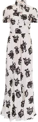 Miu Miu Long Silk Dress