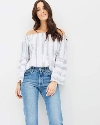 DECJUBA Phoebe Swing Sleeve Top
