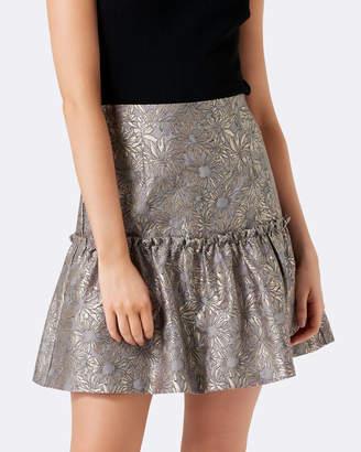 Forever New Ruby Jacquard Prom Skirt
