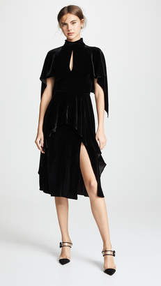 Prabal Gurung Dabu Cape Dress