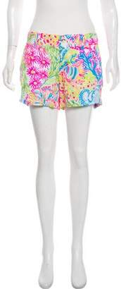 Lilly Pulitzer Mid-Rise Printed Shorts