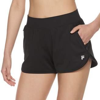 Fila Sport Women's SPORT Mesh Back Knit Shorts