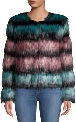 Unreal Fur The Elements Faux Fur Jacket