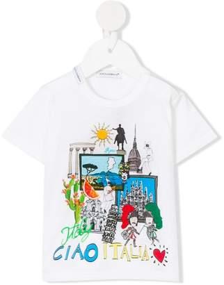 Dolce & Gabbana Ciao Italia print T-shirt