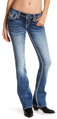 Rock Revival Dianeya Sequin Stitch Boot Cut Jeans