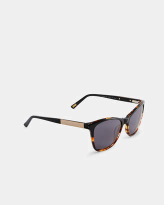 Ted Baker MIKALLA Square tortoiseshell sunglasses