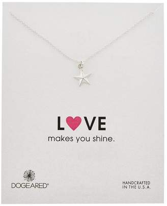 """Dogeared Love Makes You Shine Nautical Star Necklace - Gold Dipped, 18"""""""