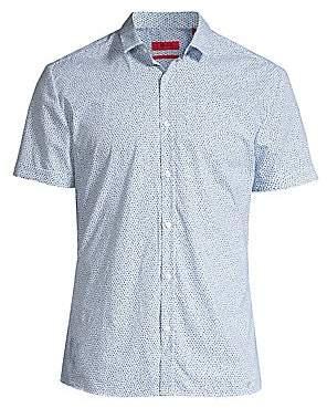 HUGO Men's Empson Confetti Print Shirt