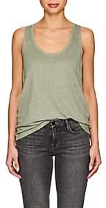 Rag & Bone Women's Lottie Slub Linen Tank-Green