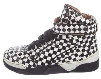 Givenchy Tyson Checkered Sneakers