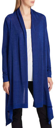 DKNY Wool-Blend Waterfall Cardigan