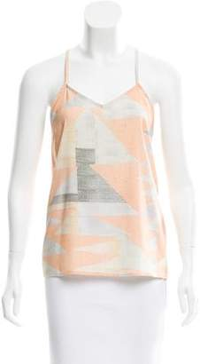 Mara Hoffman Sleeveless Printed Top w/ Tags