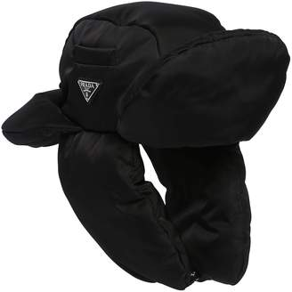 2bff7002cc9 Prada Padded Nylon Trapper Hat