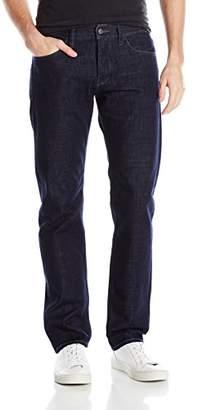 "Armani Exchange A|X Men's Slim Fit 5 Pocket Blue Rinse Denim 32"" Inseam"
