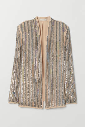 H&M Jacket with Sequins - Silver