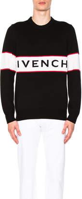 Givenchy Logo Knit Sweater