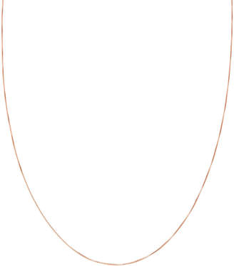 "14k Gold 14K Rose Gold 18"" Thin Necklace"