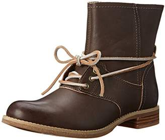 Timberland Women's Savin Hill Lace Ankle Motorcycle Boot