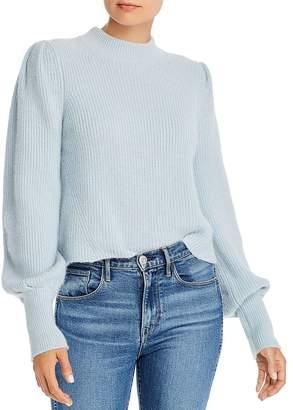 Eleven Paris Six Mia Cropped Alpaca Sweater