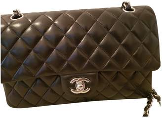 Chanel Timeless/Classique Black Leather Handbag