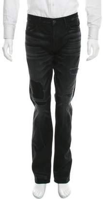 3x1 Distressed Slim-Fit Jeans w/ Tags