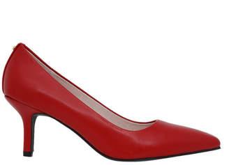 Basque Elizabeth Red Leather Heel