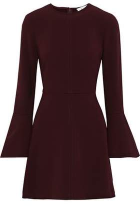 A.L.C. Trixie Fluted Stretch-crepe Mini Dress