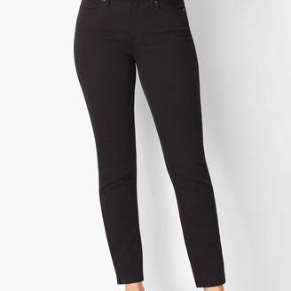 Talbots Slim Ankle Jeans - Curvy Fit - Never Fade Black