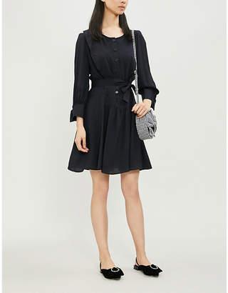 Claudie Pierlot Rihane waist-tie crepe dress
