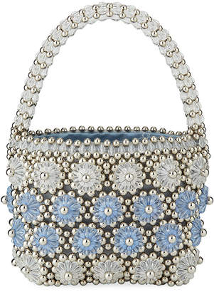 Shrimps Beaded Shelly Top Handle Bag