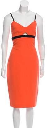 Victoria Beckham Sleeveless Midi Dress