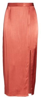 Women's Wayf Brady Satin Midi Skirt $69 thestylecure.com