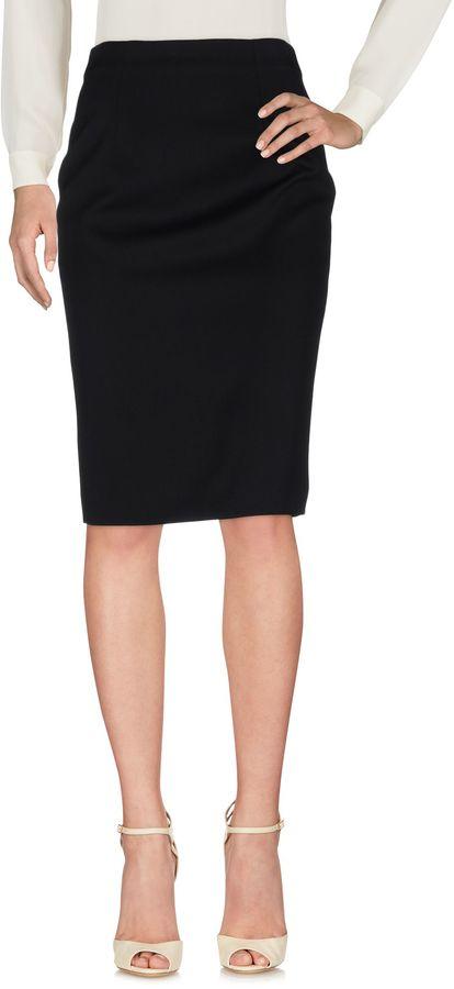 Alexander McQueenALEXANDER MCQUEEN Knee length skirts