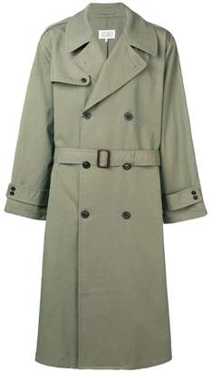 Maison Margiela gabardine trench coat