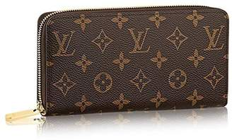 Louis Vuitton Louis V uitton Monogram Canvas Rose Ballerine Zippy Wallet M41894