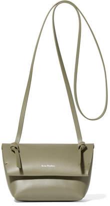 Acne Studios Crossbody Mini Leather Shoulder Bag - Army green