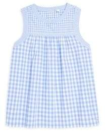 Vineyard Vines Little Girl's & Girl's Gingham Woven Top