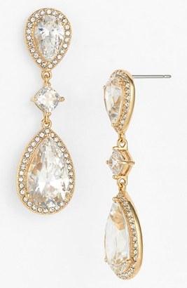 Women's Nadri Cubic Zirconia Drop Earrings $90 thestylecure.com