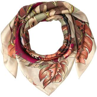 Vince Camuto Queen of the Jungle Silk Scarves