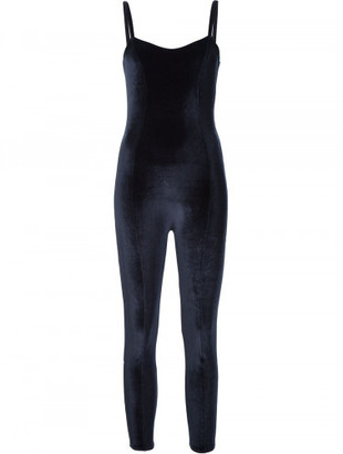 Lisa Marie Fernandez 'Genevieve' velvet catsuit $345 thestylecure.com